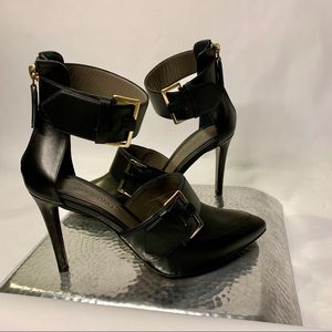Jason Wu Pointed Tow Double Buckle Pump US 8 NWOT